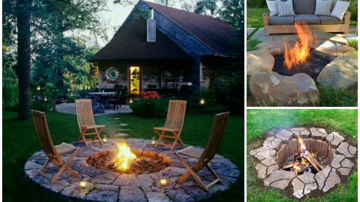 20 Easy And Fun Diy Fire Pit Ideas For Any Backyard Pondic