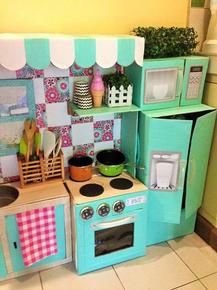 Детская кухня своими руками как ее сделать