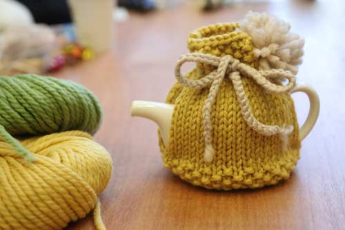 These Fairy House Tea Cosy Patterns Are Absolutely Button Cute Pondic